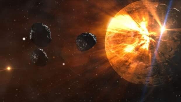 NASA обнаружило в космосе летящий на огромной скорости Х-образный объект