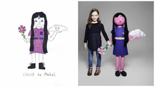 """Художники """"оживили"""" нарисованные детские фантазии, превратив их в реальные вещи"""