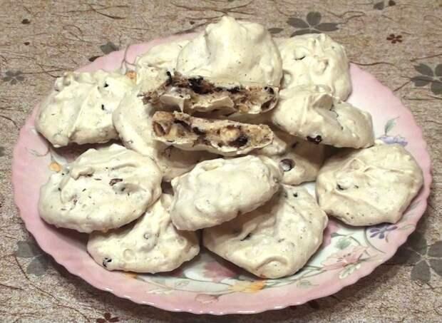 Забытое печенье Кулинария, Безе, Меренга, Десерт, Видео, Длиннопост, Печенье, Рецепт