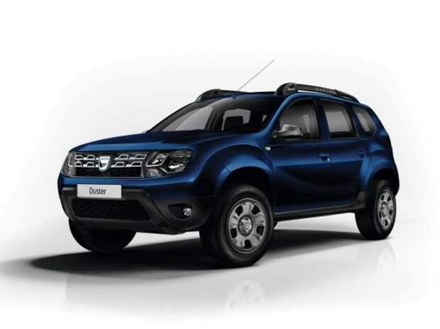Dacia представит спецверсии Sandero, Duster и Logan MCV