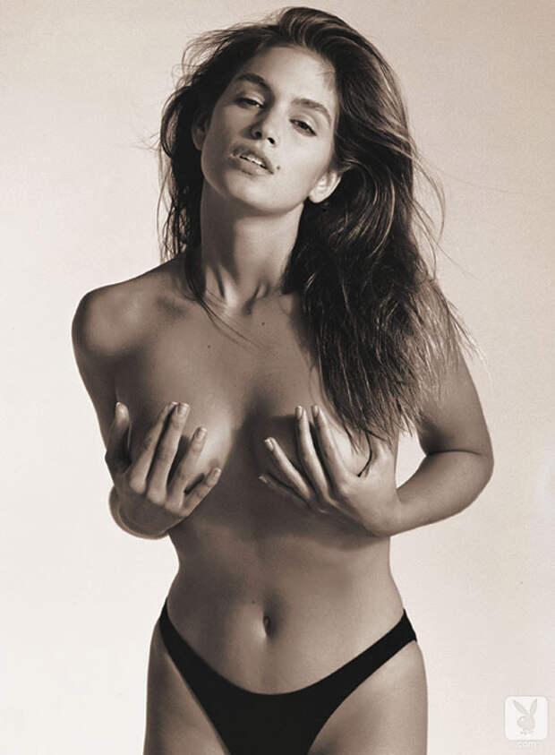 Синди Кроуфорд в журнале Playboy 1988 года.