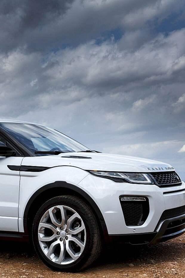Range Rover Evoque 2016: и принцессам за рулем не зазорно