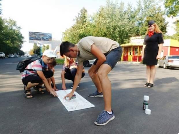 Инициативные ребята из Курской области занялись безопасностью