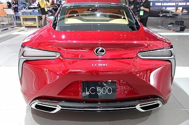 Lexus LC 500 обойдет «немцев» на атмосферном фронте (ФОТО)