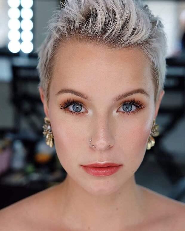 25 прекрасных стрижек для дам старше 40 лет на светлые волосы 2021
