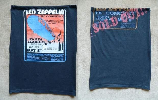 Переделки панковских футболок (подборка diy)
