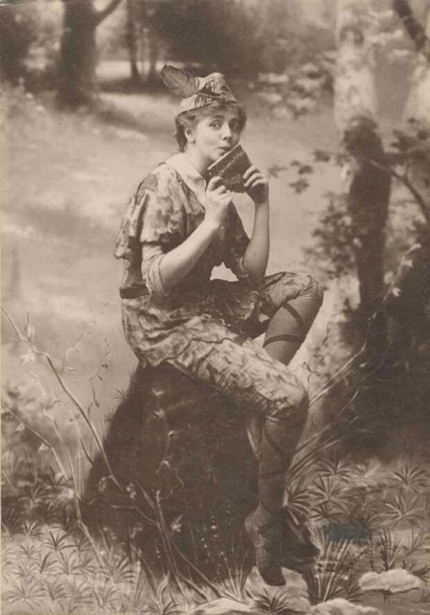 Как Мод Адамс стала лучшей актрисой начала XX века, и почему она предпочитала мужские роли