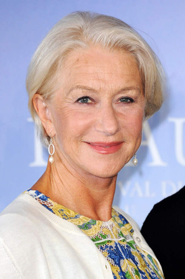 Хелен Миррен (Helen Mirren). Возраст: 69 лет. Кампания: L'Oreal Paris UK.