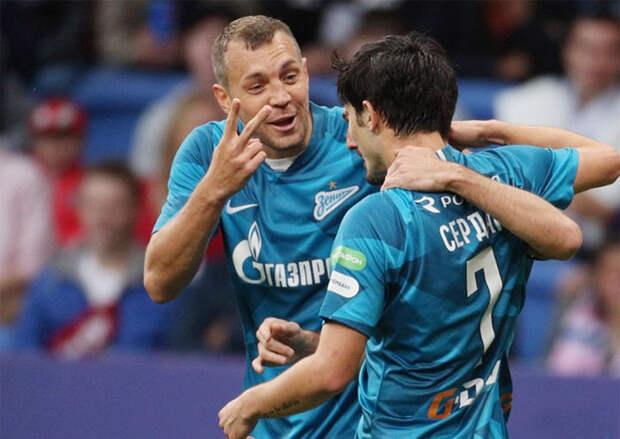 В сборной тура три игрока «Зенита». Дзюба получил наивысший балл. Второй по списку Азмун