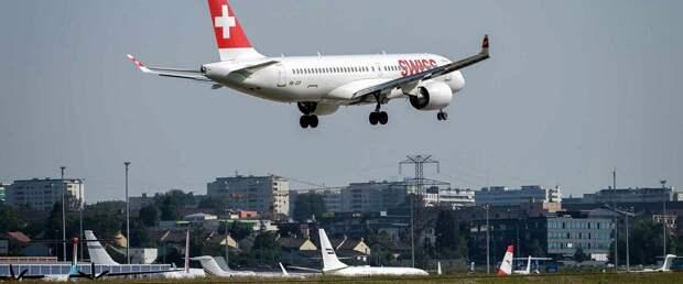 Swiss отменила около 100 рейсов из-за Pratt & Whitney