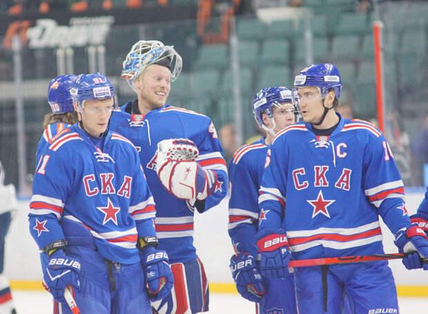 СКА перед заключительным матчем «регулярки» всухую обыграл «Витязь». Определись первые пары плей-офф КХЛ на Западе и Востоке