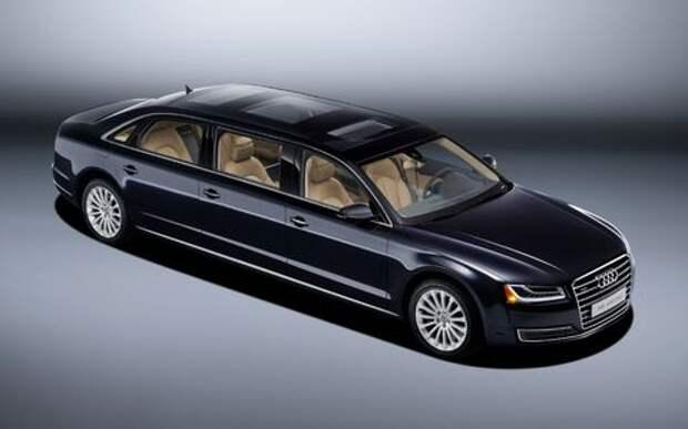 Audi A8 может вытянуться вслед за Майбахом