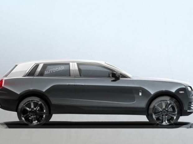 Rolls-Royce официально подтвердил запуск внедорожника