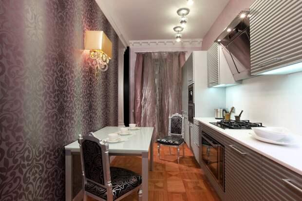 Обои для кухни: фото идеи современного интерьера
