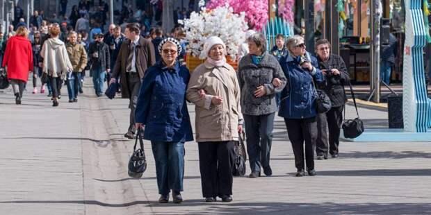 Собянин одобрил предложение ветеранов повысить доплаты к пенсиям/mos.ru