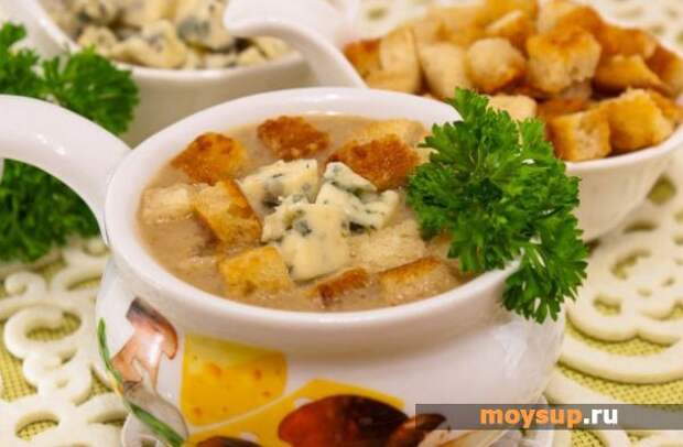 Сырный суп из шампиньнов — волшебный вкус не оставит вас равнодушными