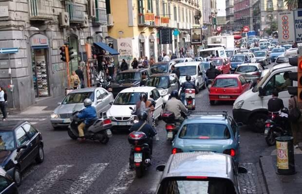 10. Итальянцы автопутешествие, водители
