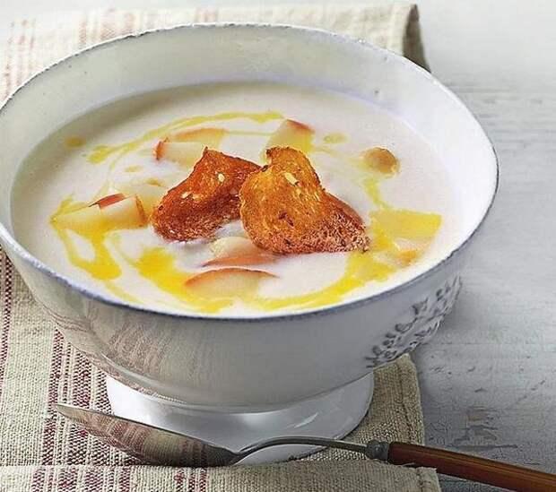 Крем-суп из белой репки