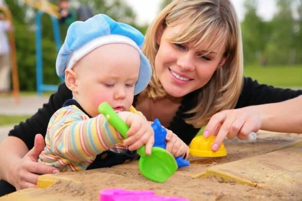 Развивающие игры в песочнице. Советы родителям