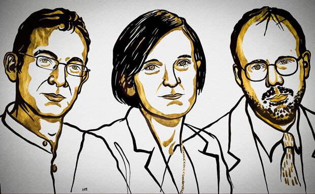 Лауреаты 2019 года: Майкл Кремер, Эстер Дюфло и Абхиджит Банерджи