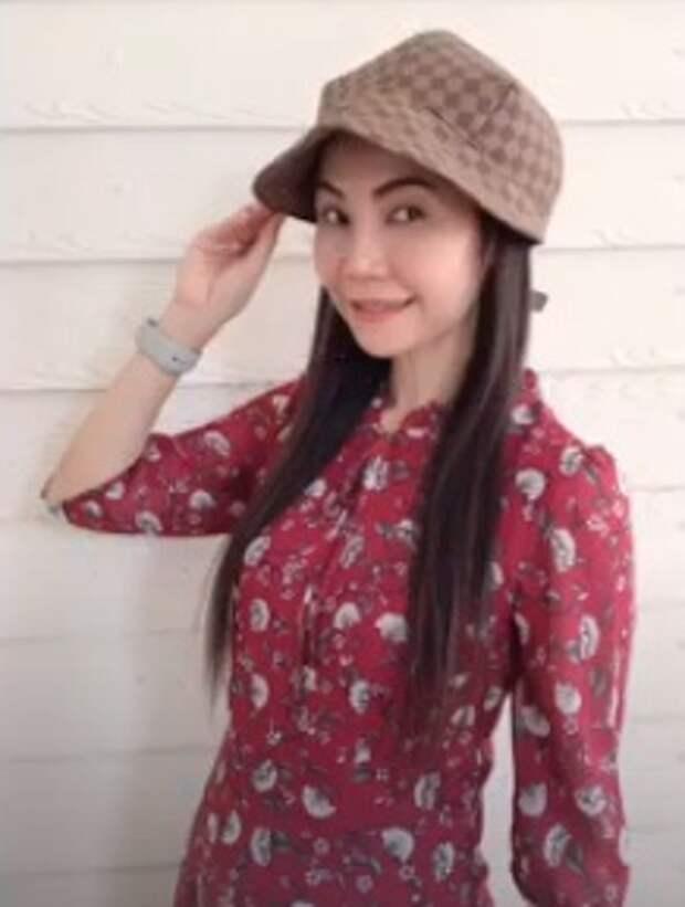 Выкройка необычной женской кепки