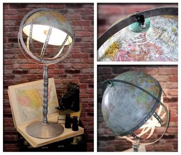 Необычная настольная лампа