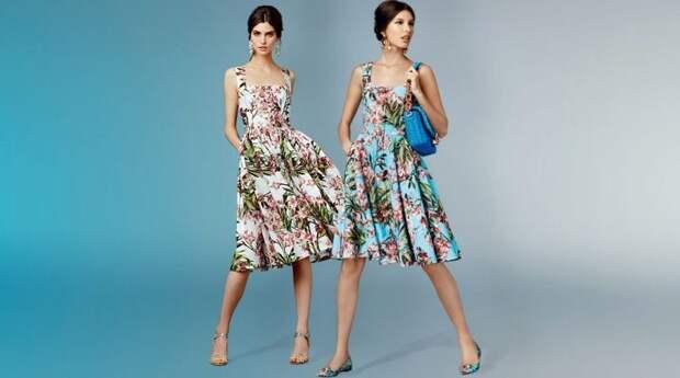 Фасоны летних платьев и сарафанов