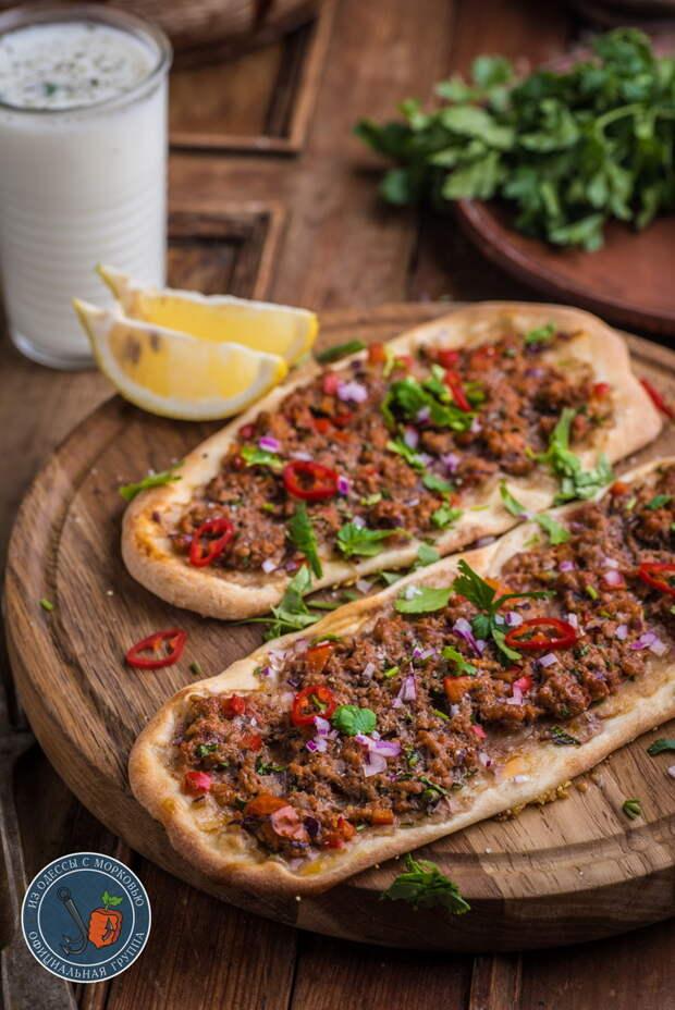 Лахмаджун| Lahmacun| Турецкая пицца Из Одессы с морковью, Кулинария, Рецепт, Еда, Длиннопост, Фотография