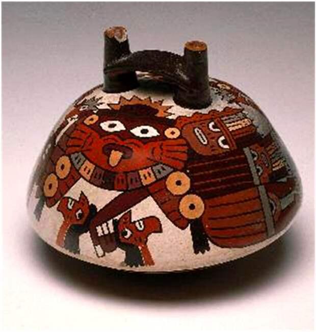 Рис. 3. Полихромная керамика Наска