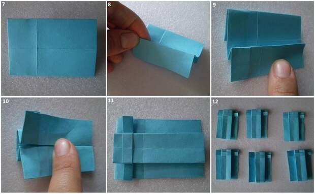 Букет оригами к 8 марта