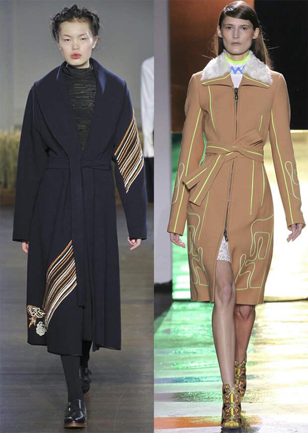 Модные женские пальто 2015-2016