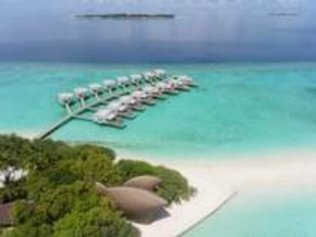Время воды в Dhigali Maldives.