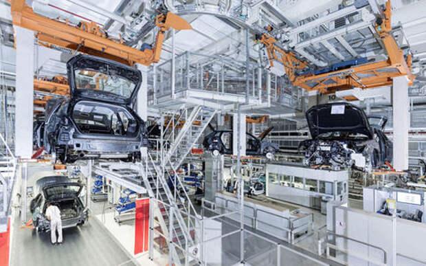 Audi остановила производство на своем головном заводе