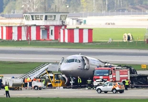 МАК: Пилоты SSJ пытались увести самолёт на второй круг