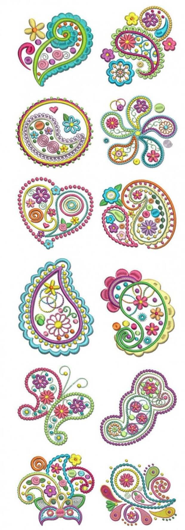 Crazy for Paisley free designs