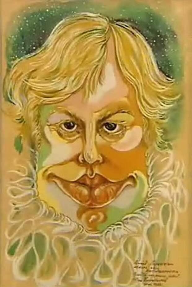 Нарисованный Юрий Богатырев.