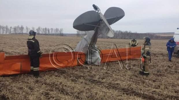 Крушение легкомоторного самолета под Иркутском расследуют в СК