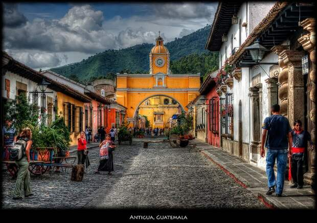 Антигуа, Гватемала.