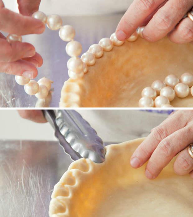 Красивые бортики пирогов. | Фото: РецептЫ.