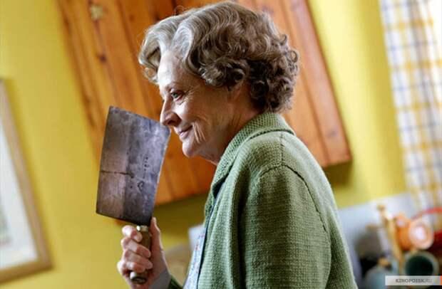 День рождения королевы британского кино Мэгги Смит