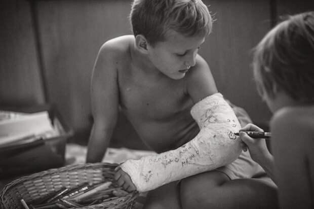 Вот так и выглядит идеальное детство — без компьютера и интернета