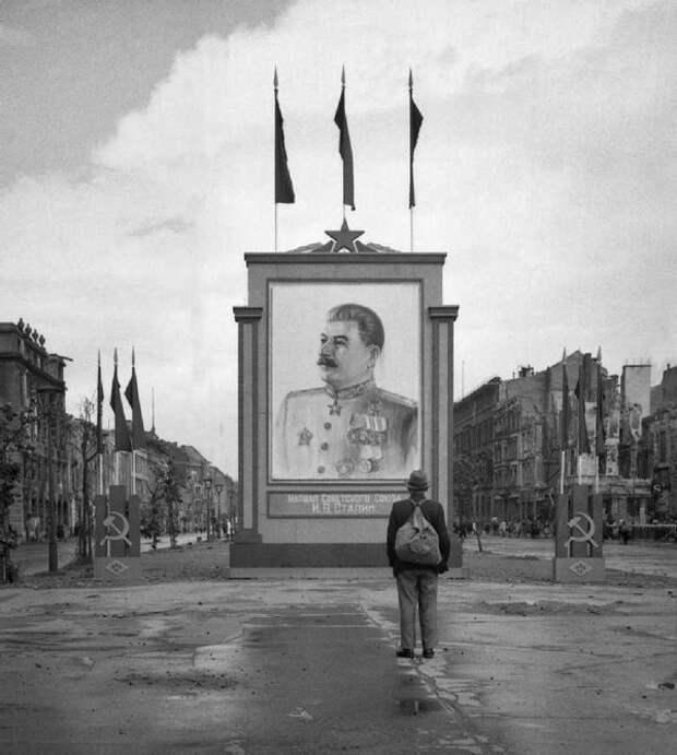 Редкие фотографии Берлина 1945 года