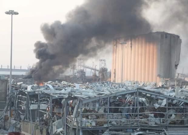Взрыв в Бейруте: 78 погибших, Трамп говорит о преднамеренной атаке