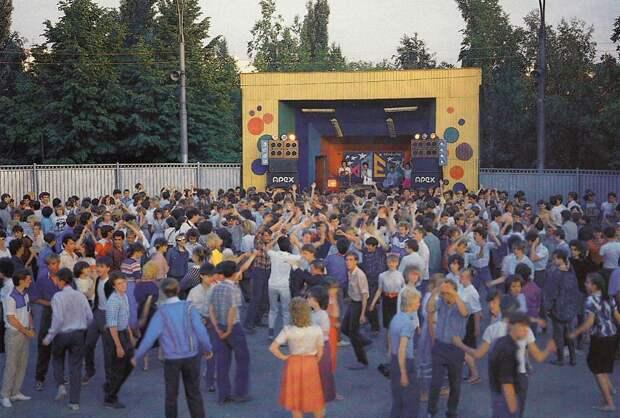 Советские дискотеки 80-ых.