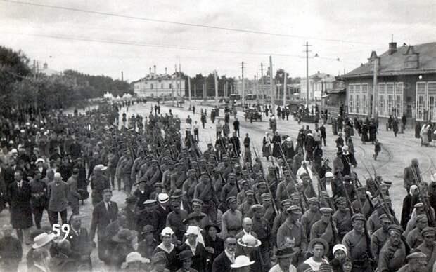 1-й стрелковый полк чехословаков в Казани в августе–сентябре 1918 года