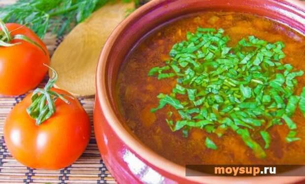 Наваристый суп-харчо из свинины