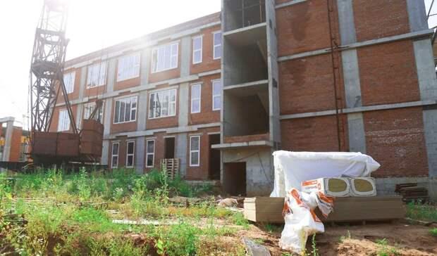 Правительству Удмуртии не хватает средств на завершение строительства школы в Ижевске