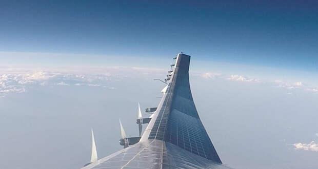 Стратосферный дрон запустили на 19 километров