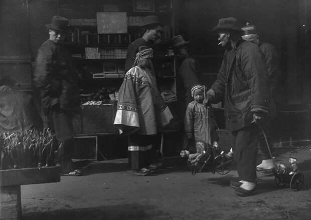 Чайна-таун вСан-Франциско перед землетрясением 1906 года