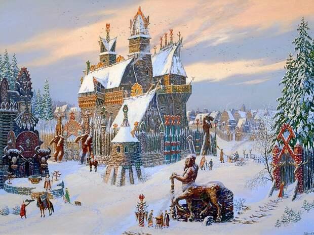 Как праздновали Новый Год на Руси древние славяне, история, новый год, праздник